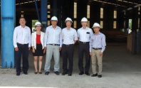 Japanese customer visits Nam Viet factory
